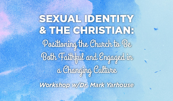 Sexual Identity & The Christian