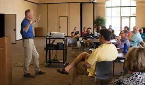 End of year celebration Connection with Bob Stromberg gives leaders a 'mandate to create'