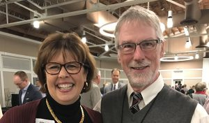 Ginny Olson honored with first Rev. Dr. Gary Downing Leadership Award